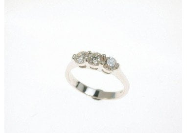 Anello Trilogy Simple 0.70 ct