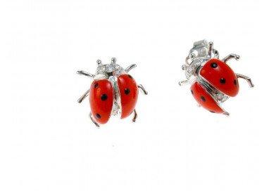 Orecchini Coccinella