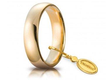Fede Comoda 5 mm  oro giallo UNOAERRE