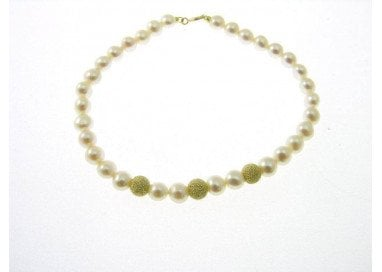 3 yellow gold Sphere Bracelet