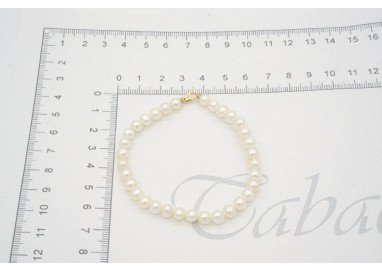 Pearls bracelet Easy yellow