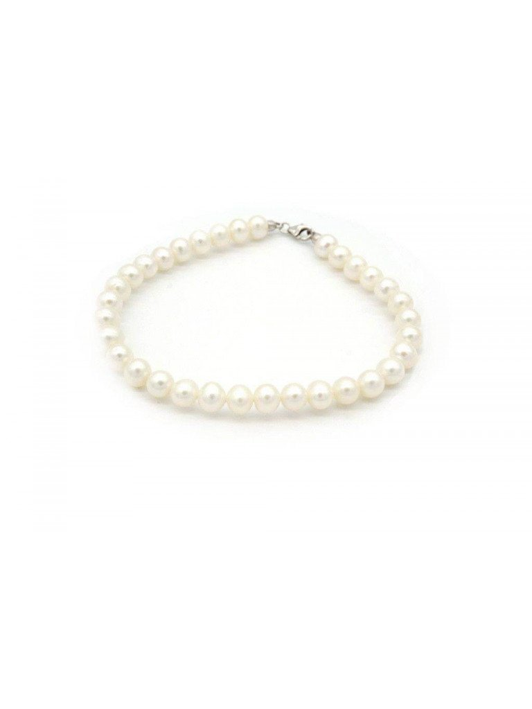 Pearls bracelet Easy white