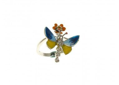 Ring Blue Butterfly