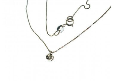 Necklace Faceted 0,016 ct