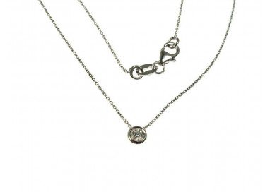 Necklace Circle 0,085 ct