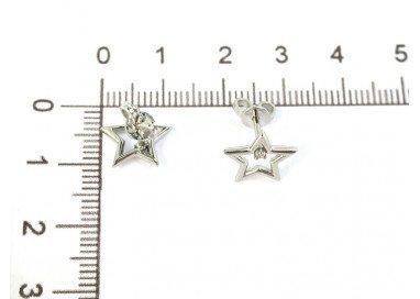 Misure stella con diamante