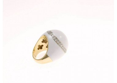Ring White dome