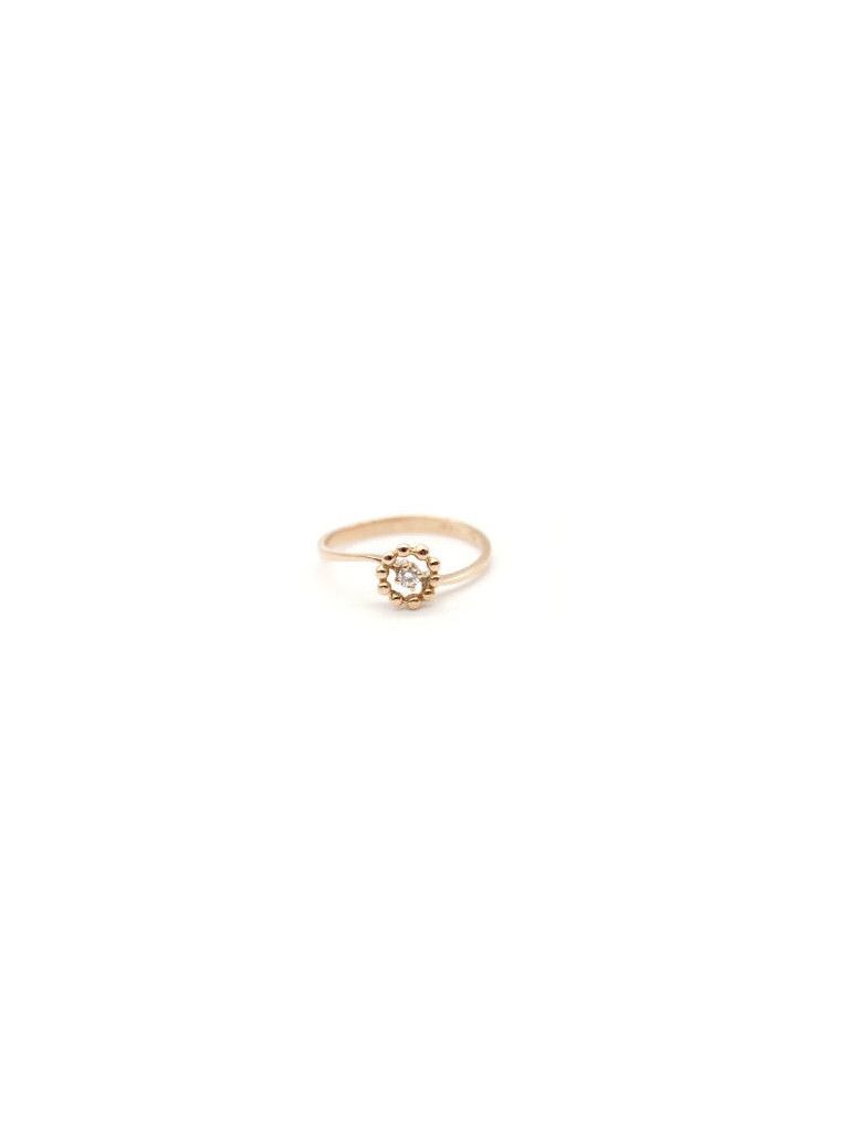 anello easy flower diamante
