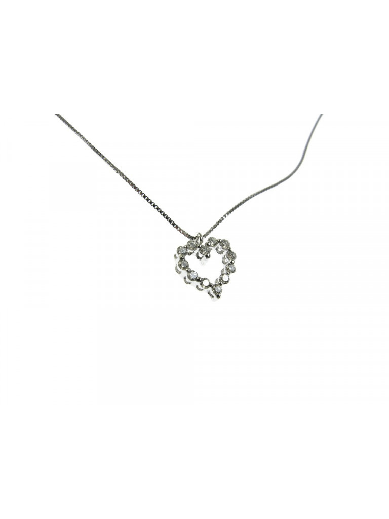 Necklace with small Heart charm