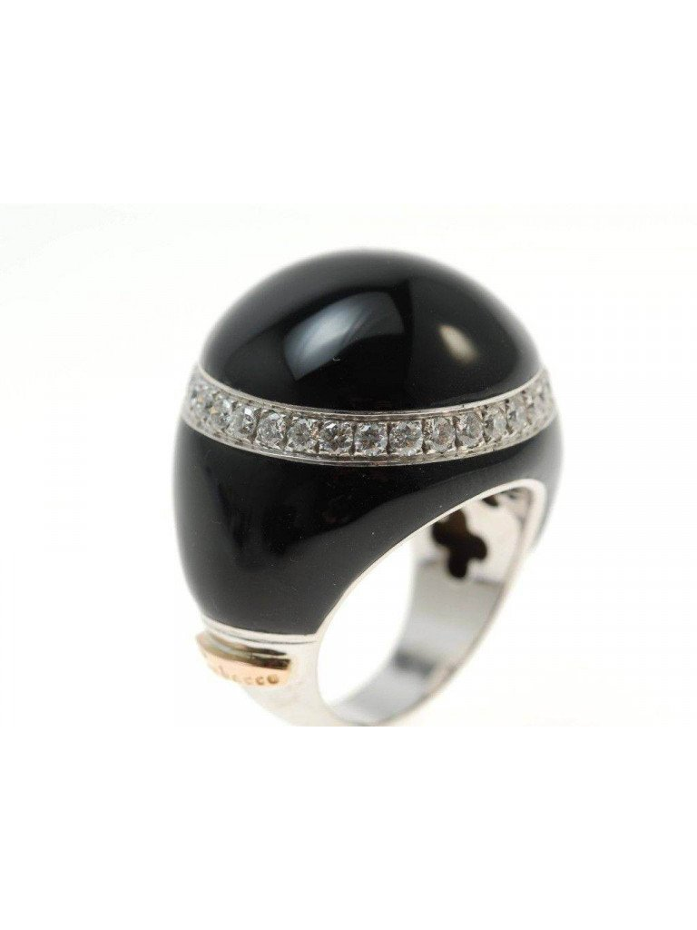 Ring Black Dome