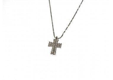 Girocollo con Croce Diamanti foto
