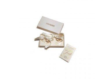 Fede Comoda Oro Bianco 3.5mm UNOAERRE