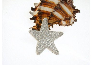 Ciondolo Stella Diamanti
