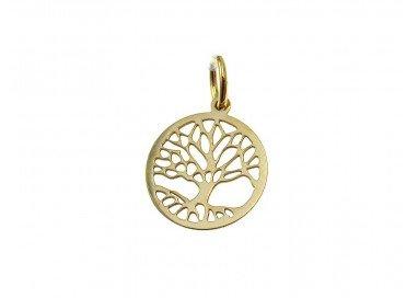 foto albero della vita oro giallo piccolo