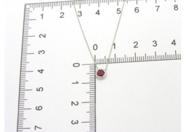 Ruby Necklace Circle