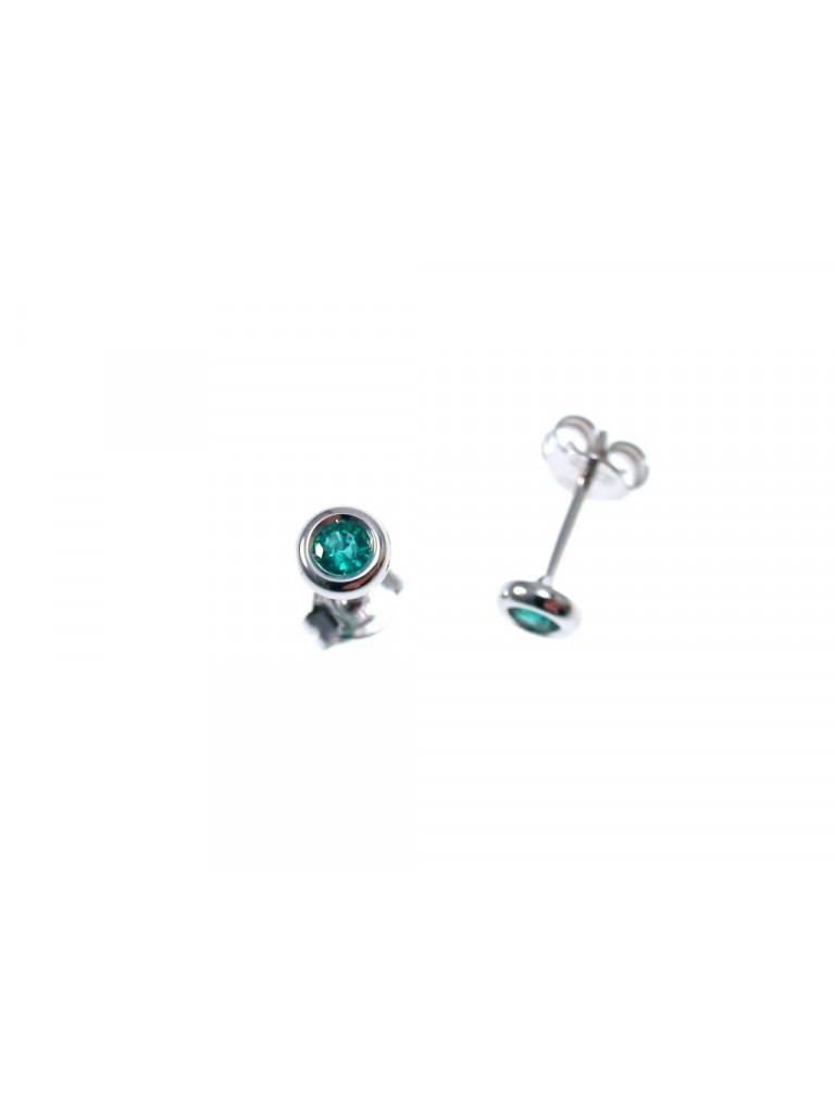 Emerald Circle earring