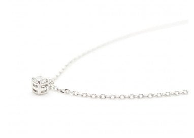 """Necklace Light 0,088ct """"Forzatina"""" Chain"""
