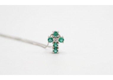 Collana con Croce Smeraldi