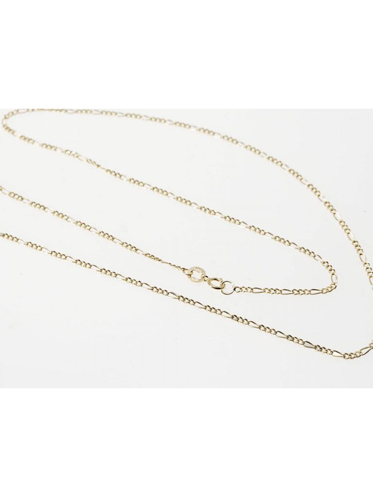 50cm Necklace 3+1 18kt yellow gold
