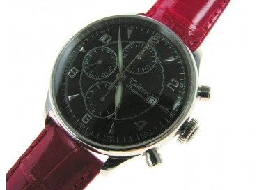 Tabacco Elite, Chronograph 3 counters, automatic