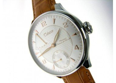 Tabacco Elite, Hand-Wound watch with Power Reserve