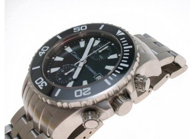 Tabacco Deep Blue, Professional Diver, Chronograph, Automatic