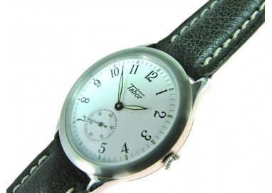Tabor Classic, Unisex, Time-Only, Hand-Wound watch.