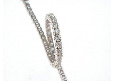 bracciale tennis diamanti